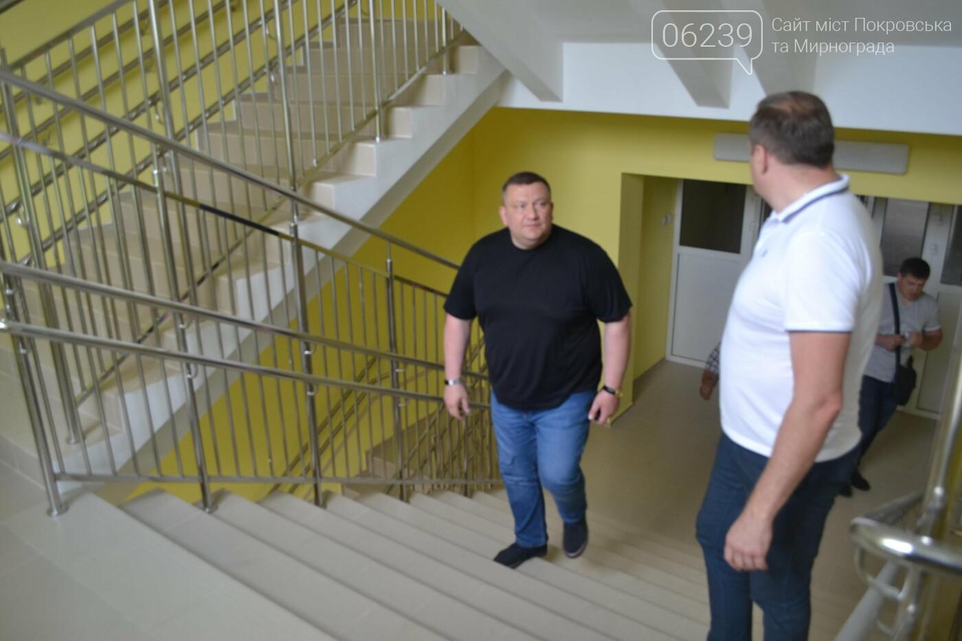 «Большое строительство»: в Новогродовке завершается капитальный ремонт опорной школы, фото-6
