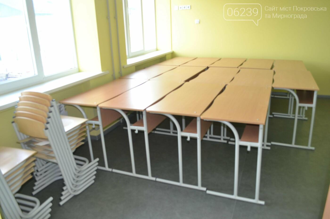 «Большое строительство»: в Новогродовке завершается капитальный ремонт опорной школы, фото-33