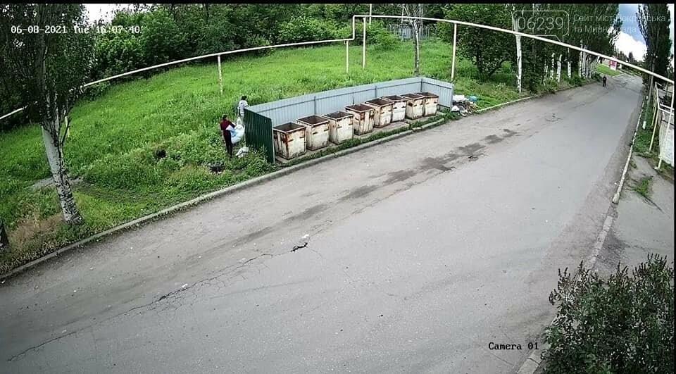 В Покровске штрафуют за выброс мусора в неположенных местах, фото-1