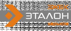 Логотип - ЗЖБК Эталон, производство железобетонных изделий для строительства дорог и коммуникаций