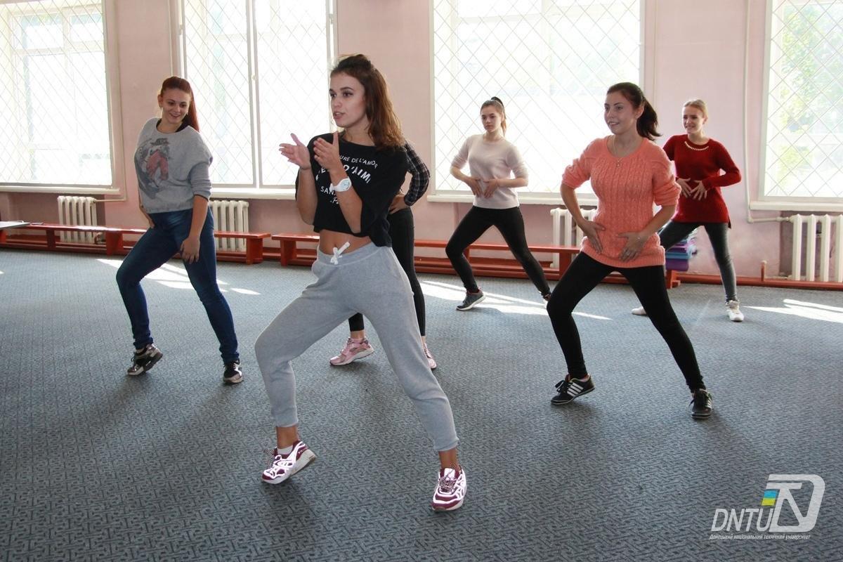 В Покровске для студенток ДонНТУ провели танцевальный мастер-класс, фото-2