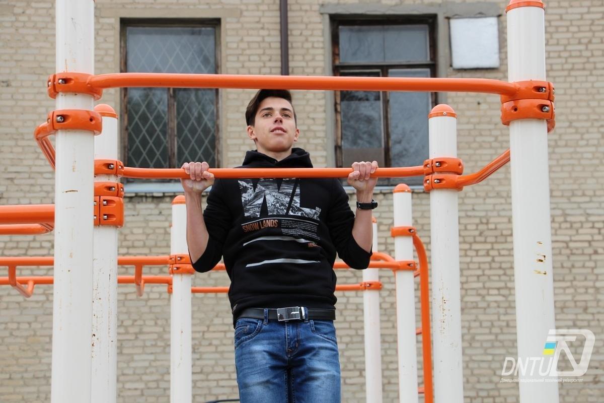 У Покровську на базі ДонНТУ пройшов турнір зі street workout , фото-5
