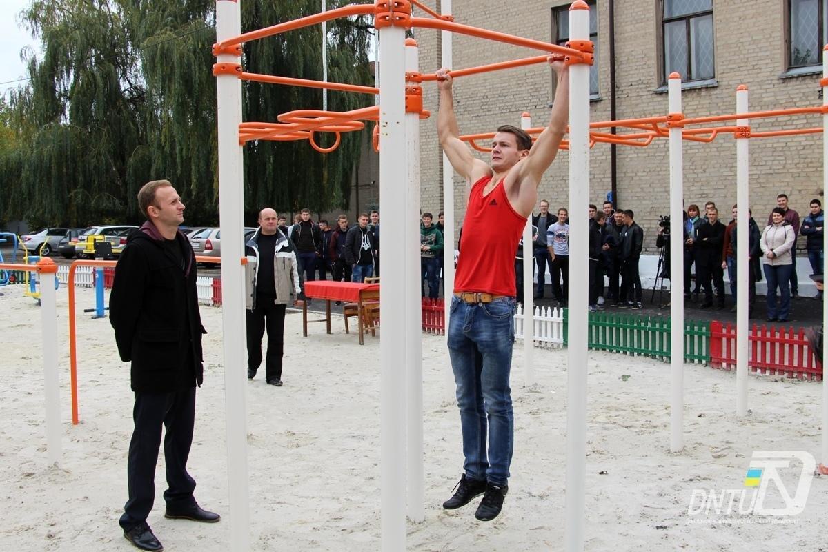 У Покровську на базі ДонНТУ пройшов турнір зі street workout , фото-3