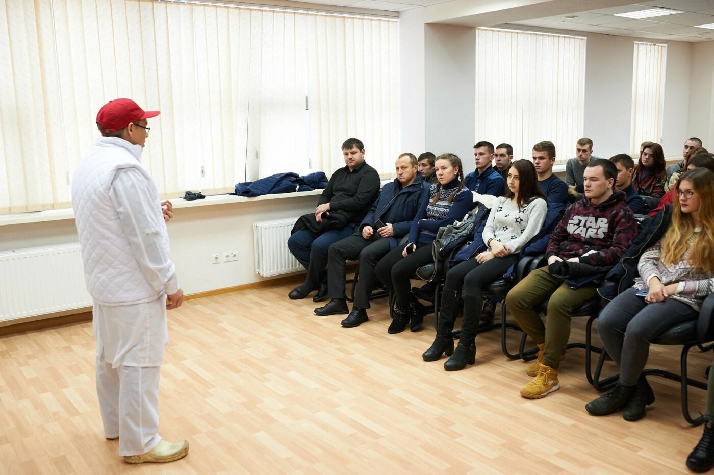 Киевские студенты посетили ведущие пищевые предприятия Донецкой области, фото-1