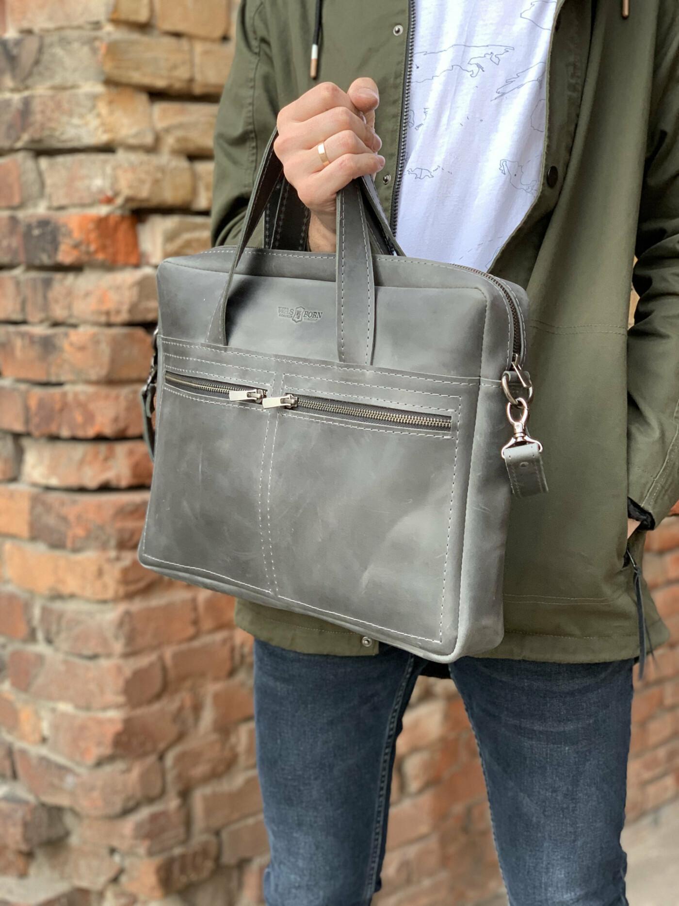Мужская рабочая сумка - как выбрать?
