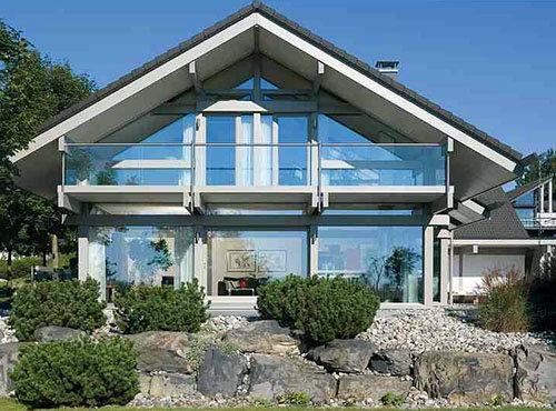 Преимущества стеклянных фасадов, фото-1