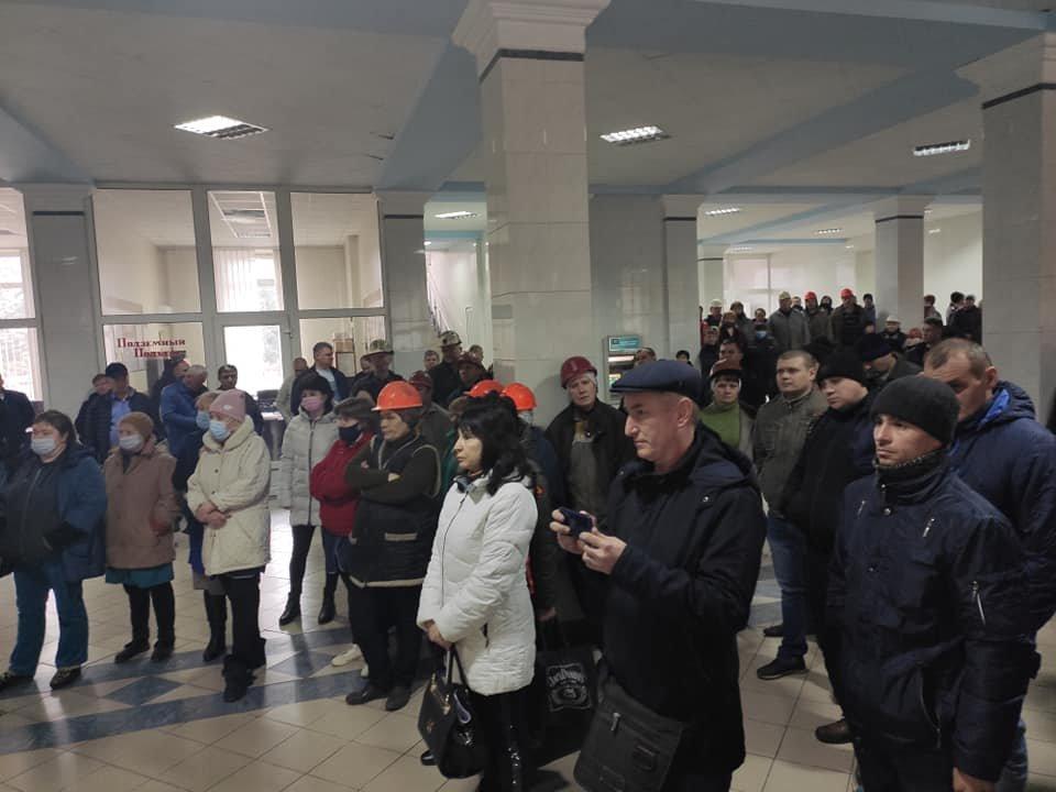 На «Краснолиманській» триває акція протесту. Підприємство очолив новий керівник, фото-2