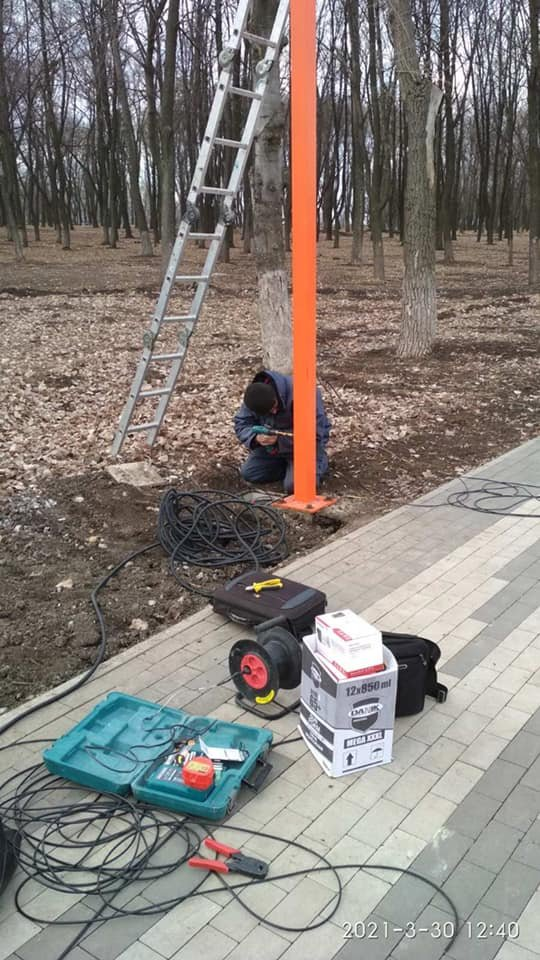 """В """"Юбилейном"""" в районе зон спортивных локаций установлены камеры видеонаблюдения, фото-4"""